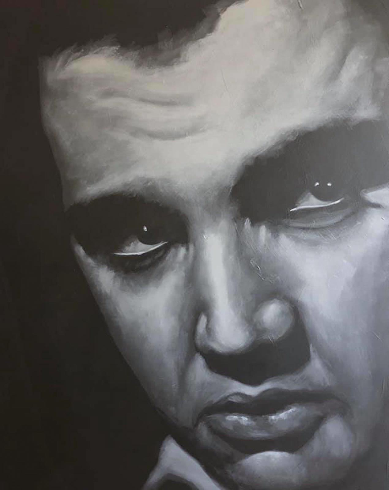 Zwart wit portret gemaakt door Bob Bakker