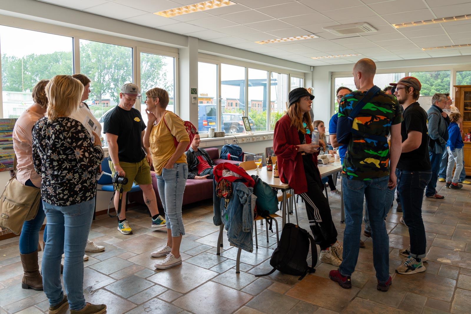 Open Atelier Dag in atelier van Robbe Baartmans