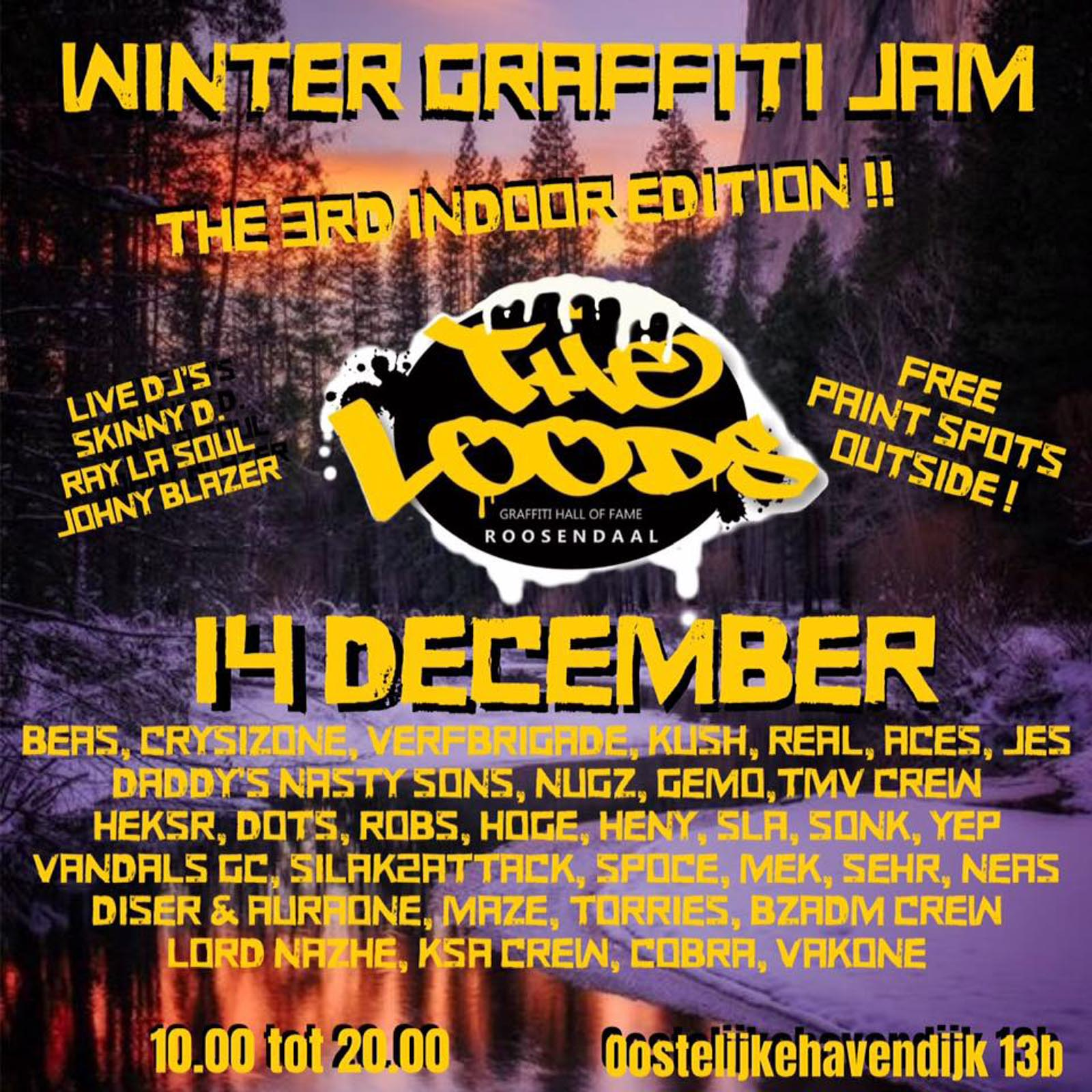 Flyer Winterjam 2019
